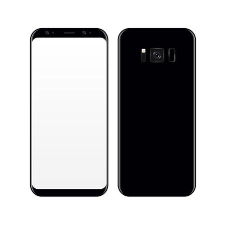 Concept Realistic smartphone.