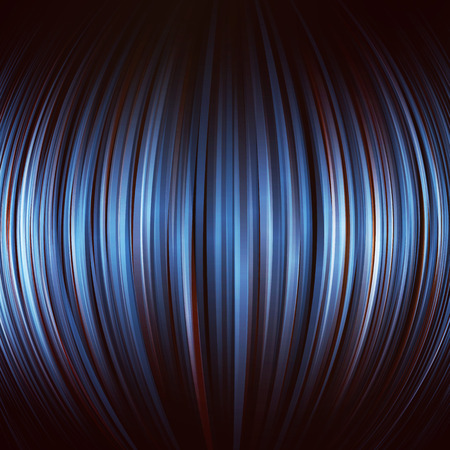 Spheric abstract blue background. Vector image.
