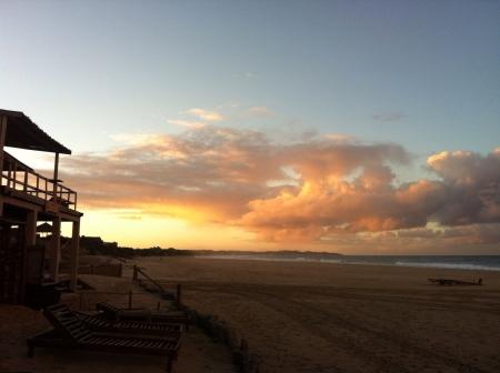 mozambique: Tofo beach southern Mozambique