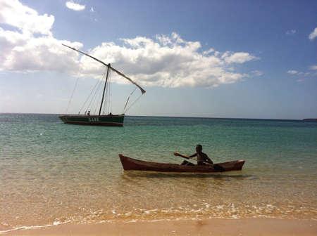 mozambique: Local fisherman in Mozambique