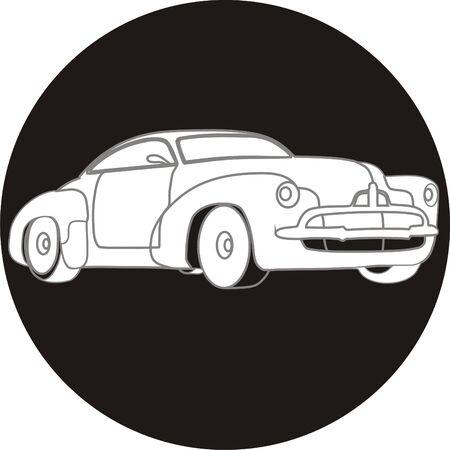 siluetas: Car icon
