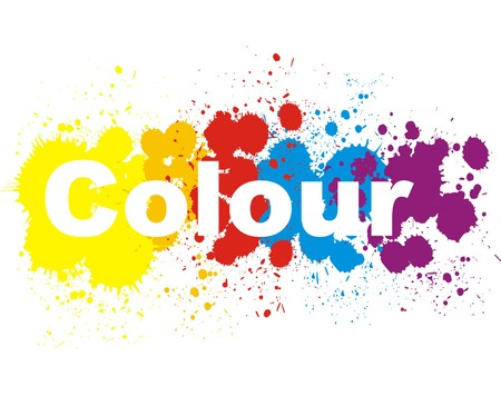Color splashes design V