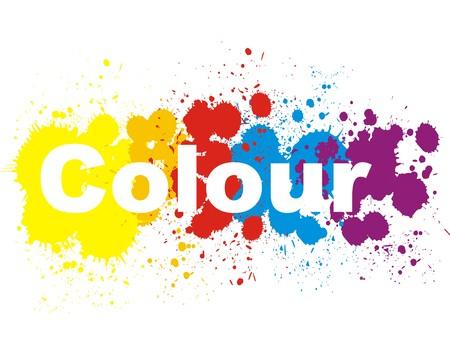 Color splashes design V