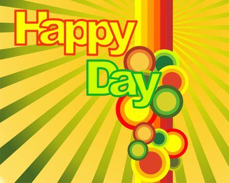 Happy day background