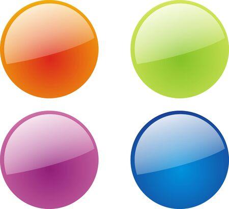 Web 2.0 buttons Stock Vector - 5453842