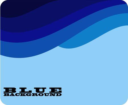 Blue background Illustration