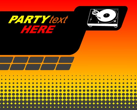Party flyer Stock Vector - 5524009