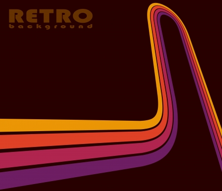 seventies: Abstract retro background