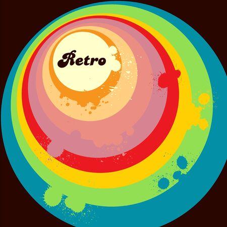 Retro bubble  Stock Vector - 5481734