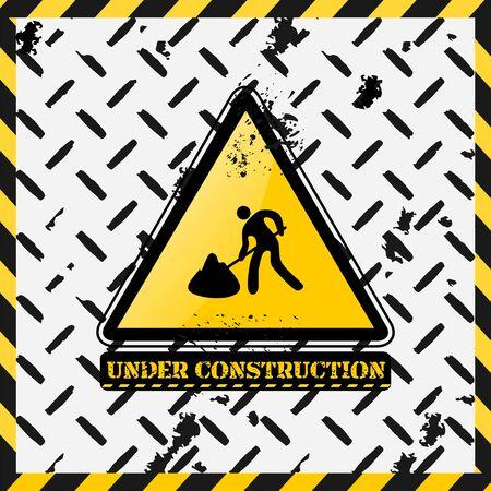 Under construction design Stock Vector - 5481717