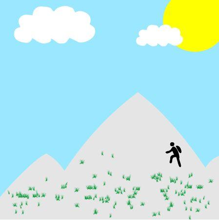 Spring climber Stock Vector - 5469126