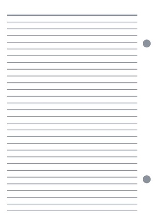 Notebook paper  Stock Vector - 5469026