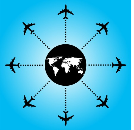 Airplane design Stock Vector - 5469133