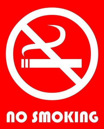 no smoking: No smoking  Illustration