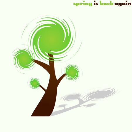 Spring tree Stock Vector - 5469074