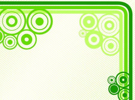 Background with lines and rounds