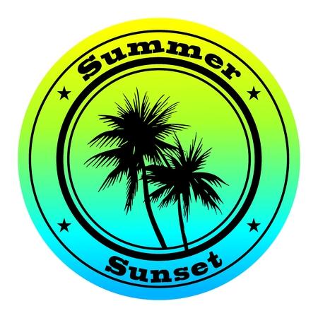 palmtrees: Sello de verano