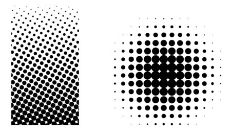 Halftone elements  Vector
