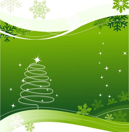 Christmas greeting card  Stock Vector - 5740215