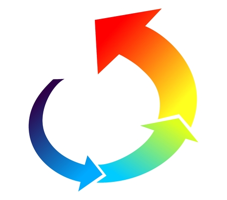 Rainbow loop Иллюстрация