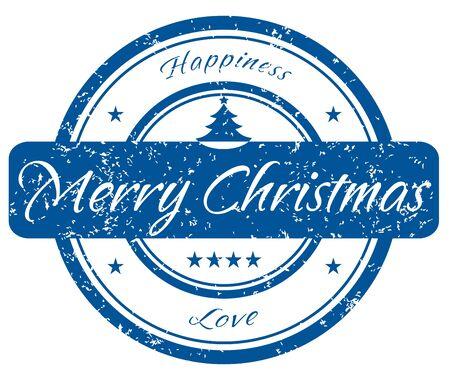 post stamp: Timbro di Natale  Vettoriali