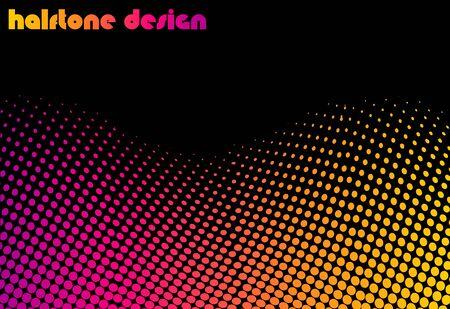 Halftone deisgn