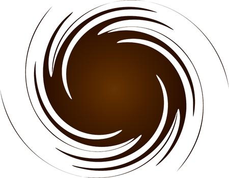 Brown spiral