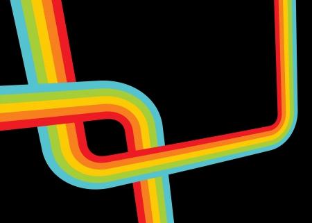 funk: Funky disco lines Illustration