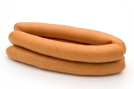 offal: hot dogs isolated on a white background