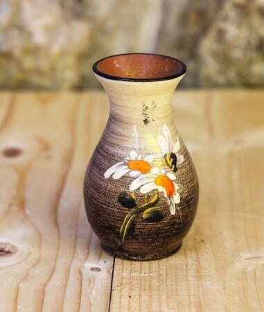 An old empty vase