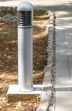 Bollards lighting, illuminate and accent landscaping, walkways, parking areas