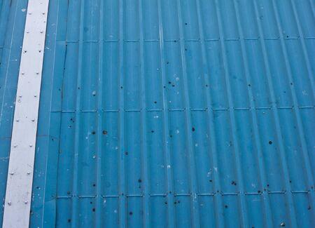 blue metal roof photo
