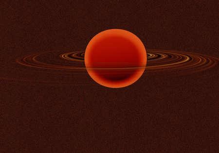 saturn rings: saturn background