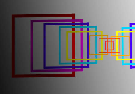 frame light lines abstract background photo
