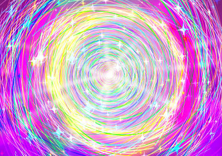 circle lines colorful abstract background Stock Photo - 14771046