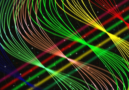 light lines abstract background  with space