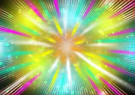 Explosion Abstract background