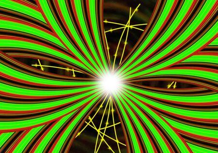 Lichtlinien abstrakten Hintergrund mit Platz Lizenzfreie Bilder