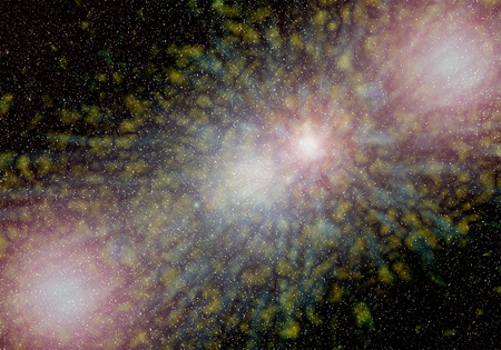 space  background Stock Photo - 19805371