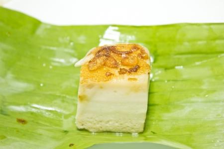 thai dessert: Thai Custard Dessert Recipe (Khanom Maw Kaeng)