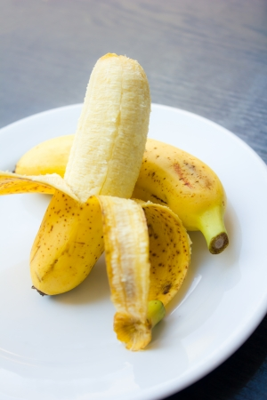 fresh bananas photo