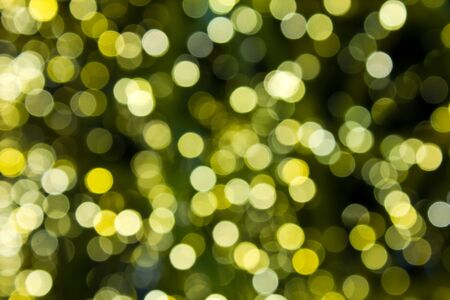 yellow bokeh light abstract photo