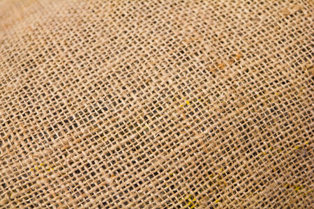 detail gunny-bag of textured  photo