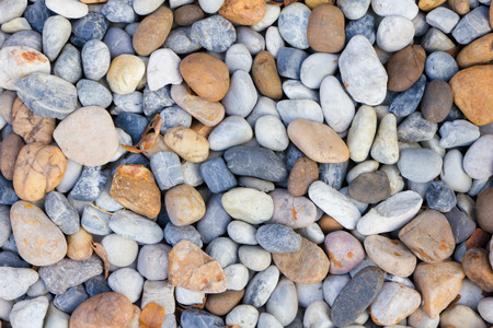 background  of a pile of pebbles photo