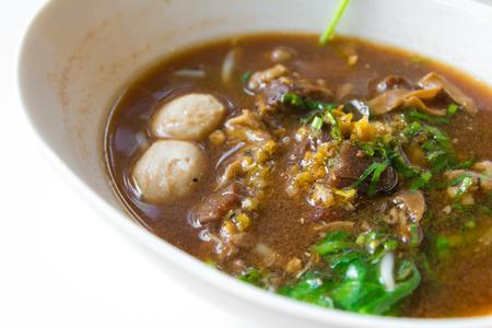 beansprouts: thai food pork noodle soup