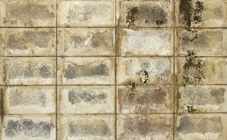 old white brick wall background photo