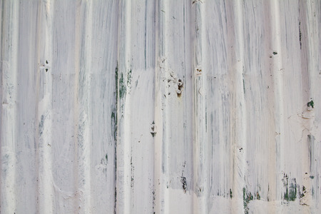 white Corrugated metal texture surface photo