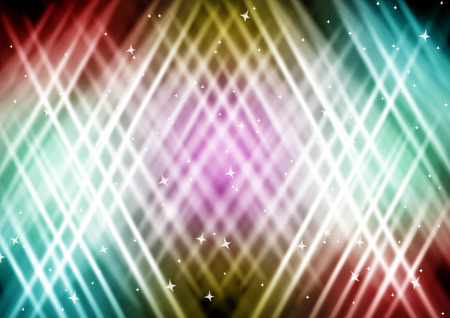 abstract lights Colorful background with star photo