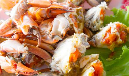 Gourmet Ged�mpfte Krabben Eier Meeresfr�chte