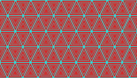 Pattern of triangles colorful background photo